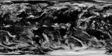 NASA's cloud coverage texture